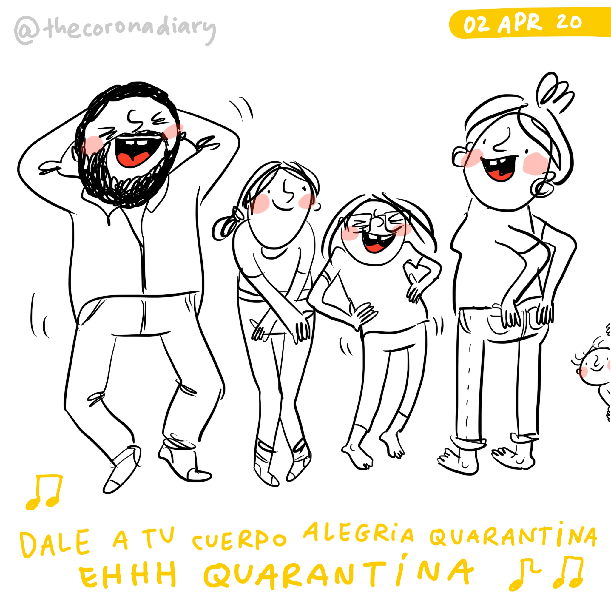Macarena in quarantine