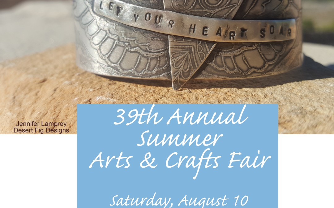 Summer Arts & Crafts Fair 2019 – Los Alamos, NM