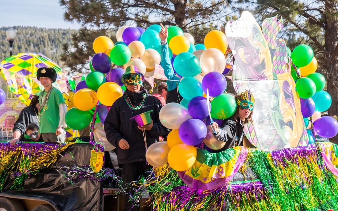 Mardi Gras in Angel Fire Feb 24 – 28, 2019