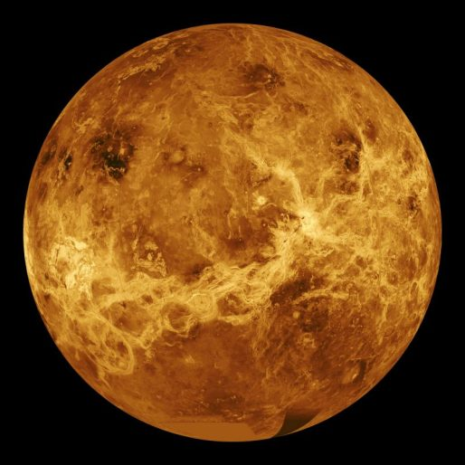 Venus image using Radar and Magellan's Data