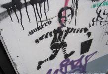 George Bush Graffiti in Barrio California, San Jose, Costa Rica