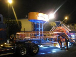 Hot Wheels float in the Festival of Lights, Costa Rica