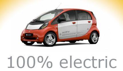 electric car i-miev