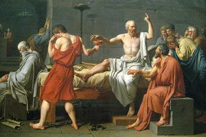 The Death of Socrates by Jacques-Louis David, 1787