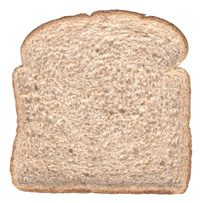 wheat bread - a carb