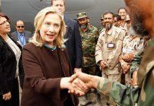 Hillary Clinton visits Libya