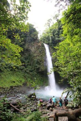 Waterfall Catarata de La Fortuna