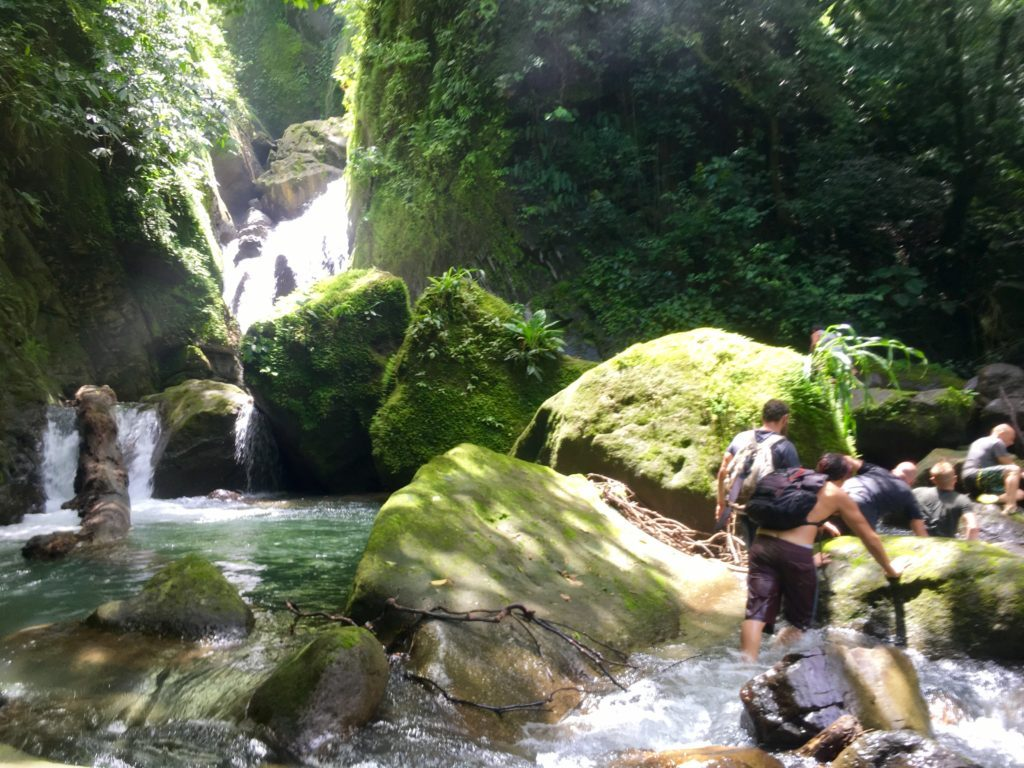 Vision Quest Men Waterfall Trek