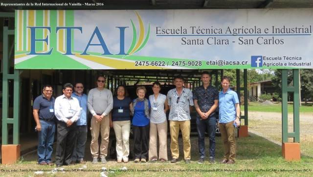 ETAI has 350 hectares of farm areas.