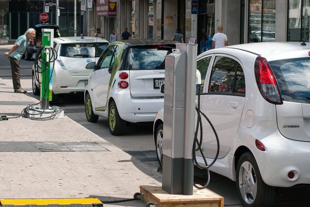 """Electric vehicles use """"Green"""" energy sources."""