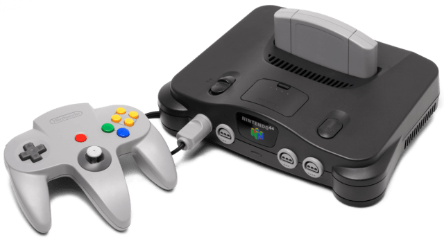 N64 was one the precursors of the Super Nintendo game box.
