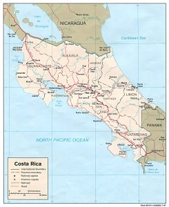 Costa Rica's railways system is the best one in Central America.