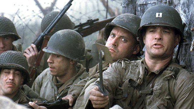 """Saving Private Ryan was one of the best movies starred by Tom Hanks."