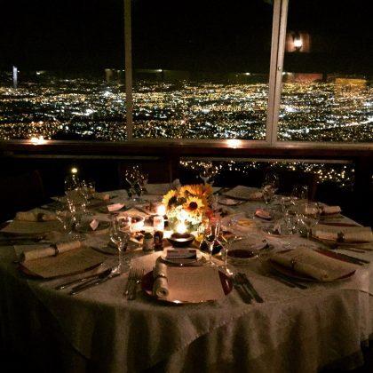 Indoor view from the restaurant Valle Azul
