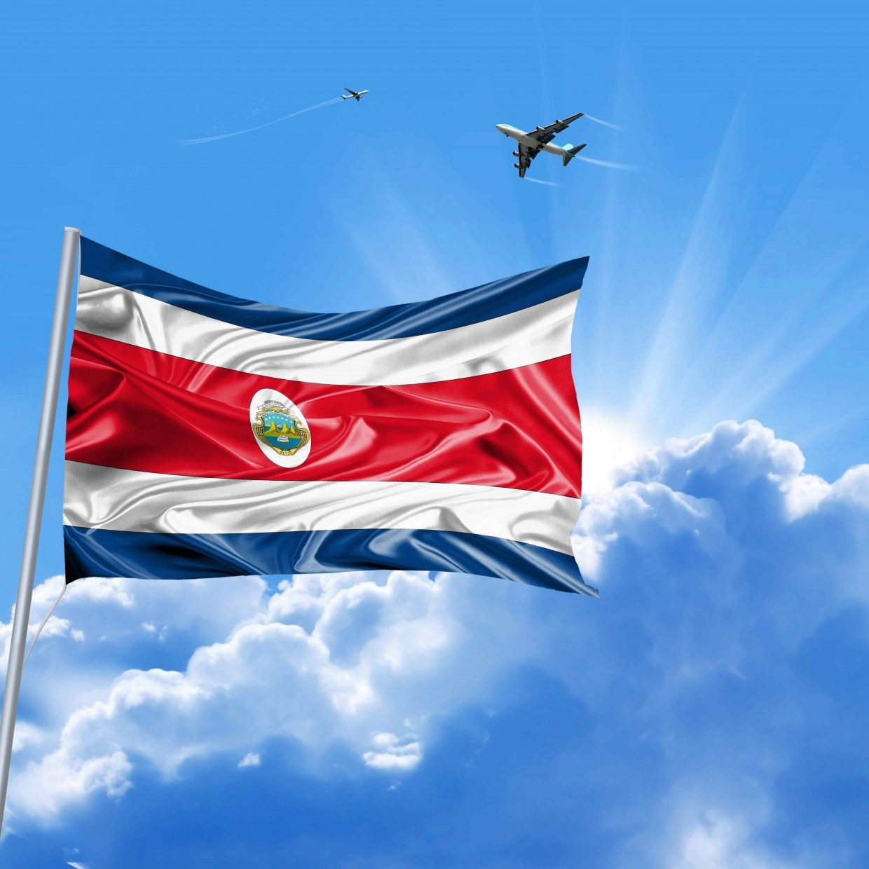 national flag of costa rica why do we love it so much the costa