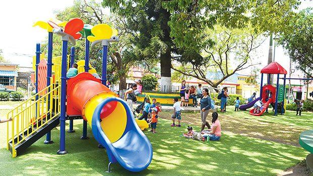 Playground of Tíbas