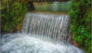 Mountain's spring water