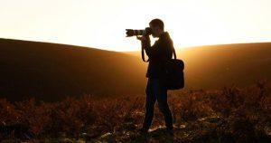 Photographing Fall's sunshine