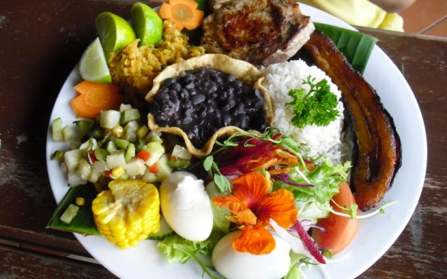 Costa Rican food is simply delicious.