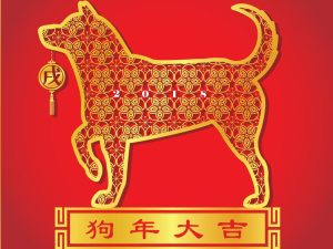 The Chinese horoscope has 12-year cycles identified by different animals.