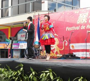 Chinese celebrate New Year with great shows.