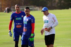 Costa Rican goalkeeper Keylor Navas