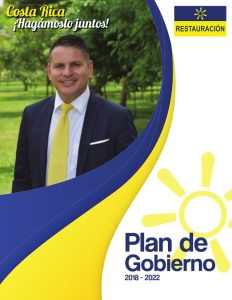 Fabricio Alvarado is also one of the 2 candidates who will go to the run-off next April 1st.