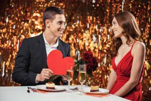 Having a romantic dinner is always a great idea for Valentine's Day.