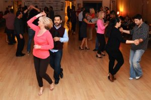 Latin dance is very attractive among couples.
