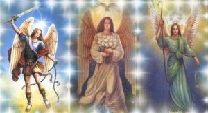 Raphael, Michael and, Gabriel