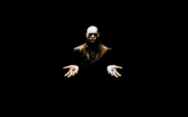 Matrix Morpheus Blue Pill Red Pill