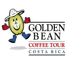 """Golden Bean"" Coffee Tour logo"