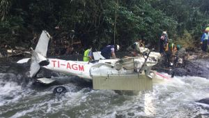 Nature Air plane crash in Guanacaste.