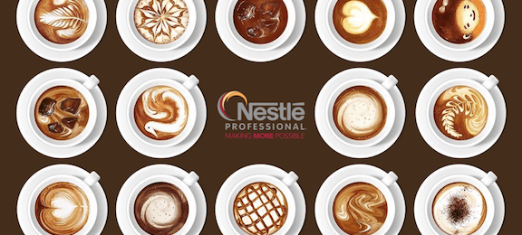 Nescafé offers a great variety of gourmet coffee options.