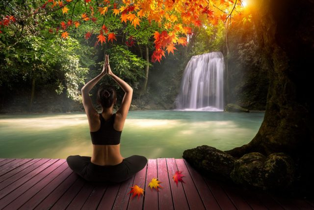 Inner peace and harmony with nature