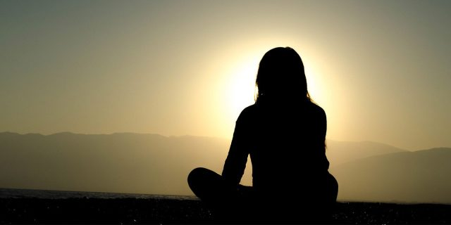 Outdoor and isolated meditation