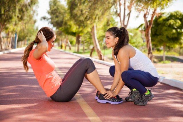 Sporty women
