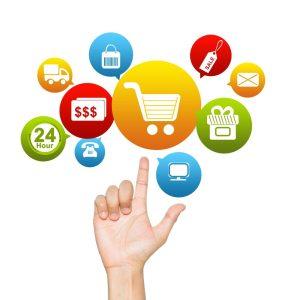 Multiple options for shopping online