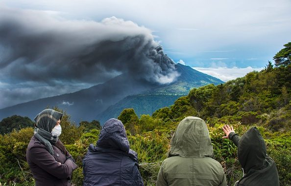 Turrialba Volcano eruption