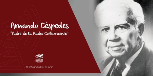 Tribute to the Father of Broadcasting in Costa Rica