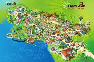 Map of legoland