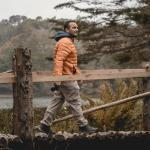 Walking towards Don Manuel Lake