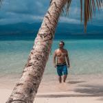 Beach, sun and sand on San Blas Island
