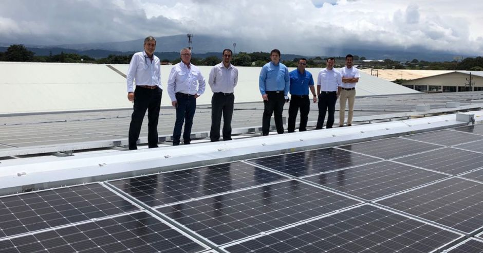 North American - Costa Rican Cultural Center Installed 459 Solar Panels in San Pedro Headquarters