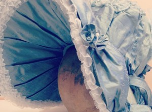 Silk Flowers and Feathers: Reimagining a Regency Bonnet