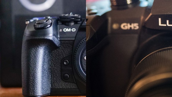 Olympus OMD EM1 Mark ii vs Panasonic GH5
