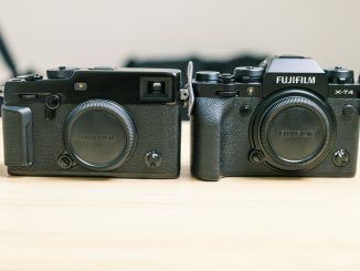 Fuji Xt4 vs X Pro 3 comparison image