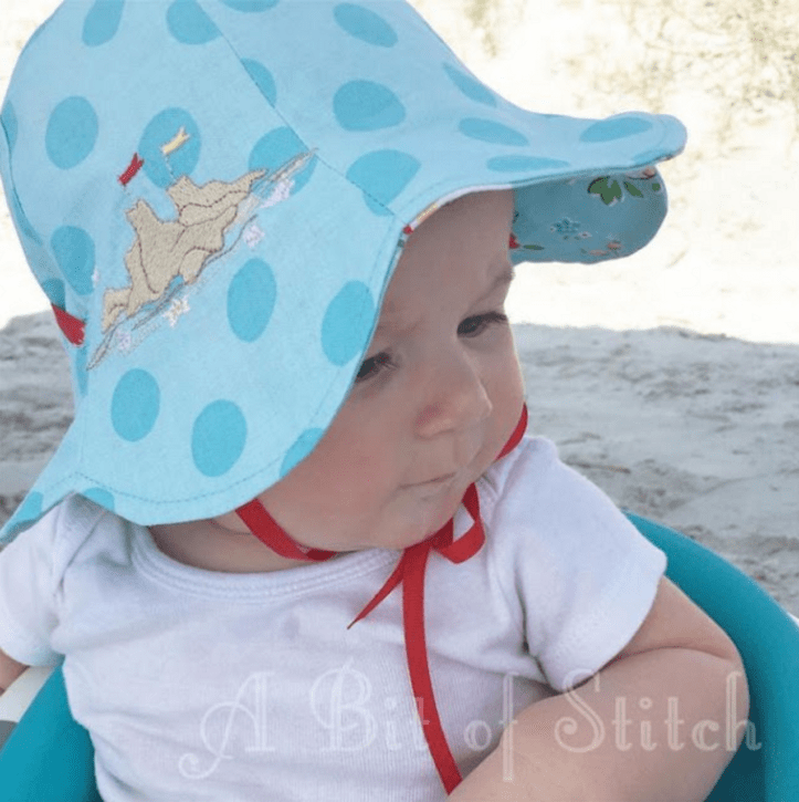 Reversible Tulip Petal Sun Hat The Cottage Mama