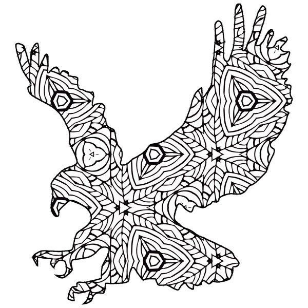 Free Printable Geometric Animal Coloring Pages Cottage Market