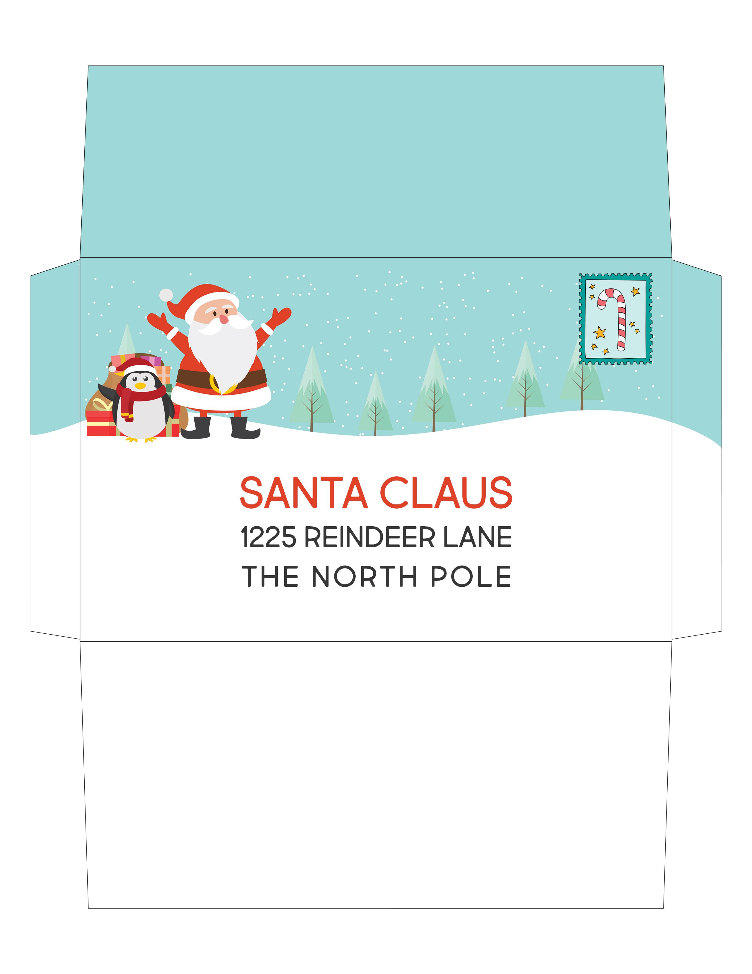 Free Printable Santa Letter Kit